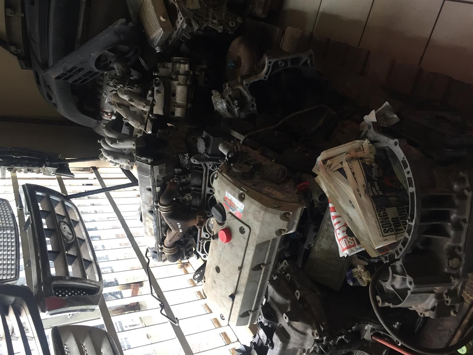 Mercedes Benz W210 111 engine for sale