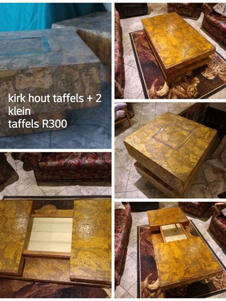 Kirk wooden tables