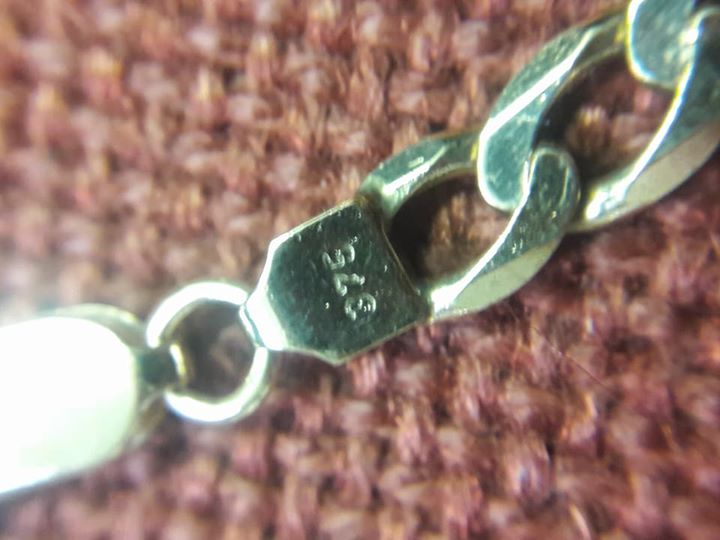For Sale 1 x 9ct (375) mens chain