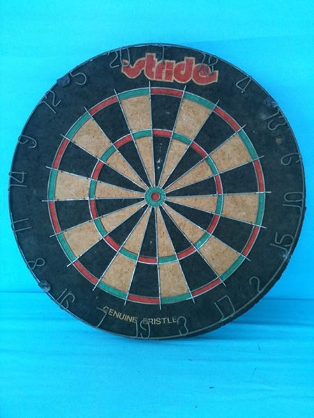 """Stride"" Dartboard."