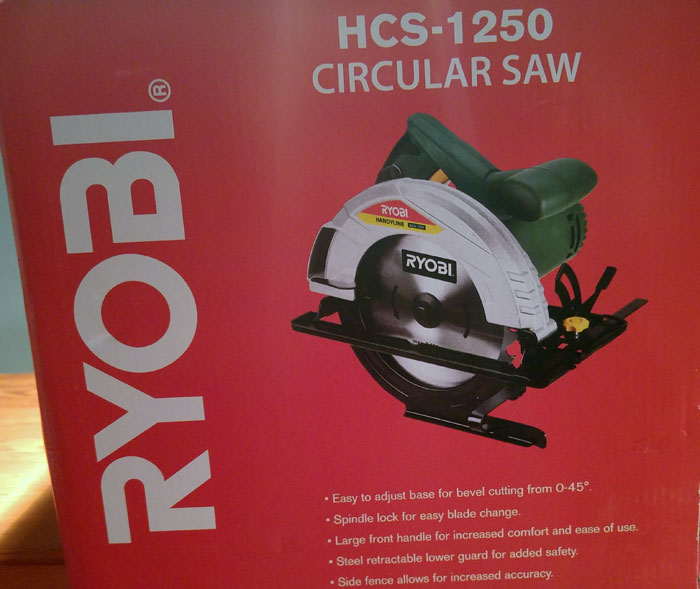 Circular saw ryobi rcs 1250 as new used 3 times only in the box circular saw ryobi rcs 1250 as new used 3 times only in the greentooth Images