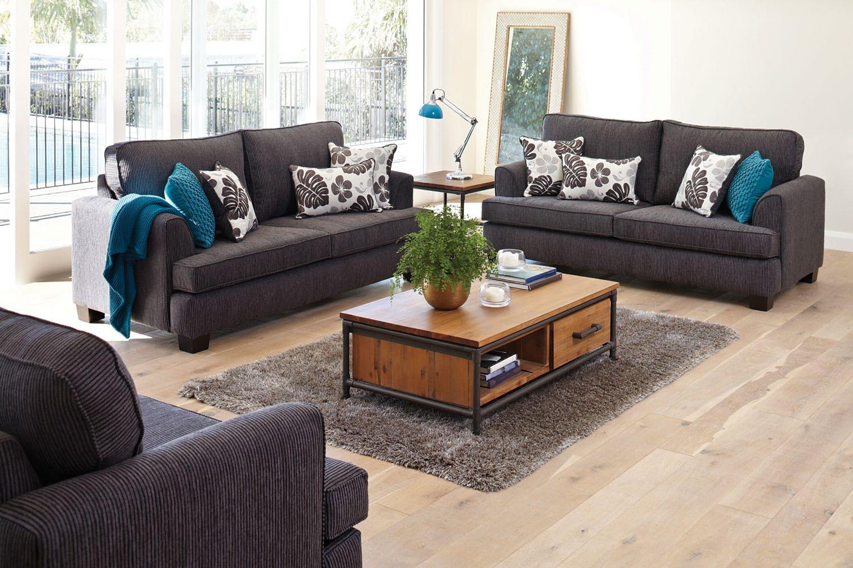 Bluegum 3-Piece Lounge Suite
