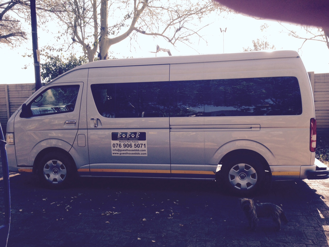 32. 14 Seater Quantum with Driver for Hire