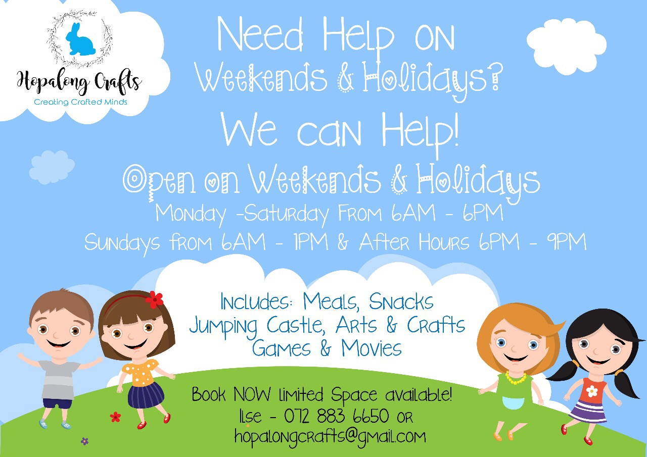 Weekend and Holiday Child Care