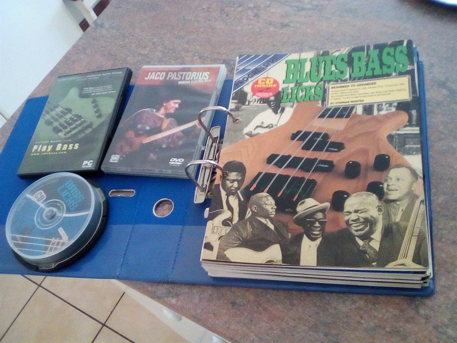 Bass Guitar Instructional DVDs