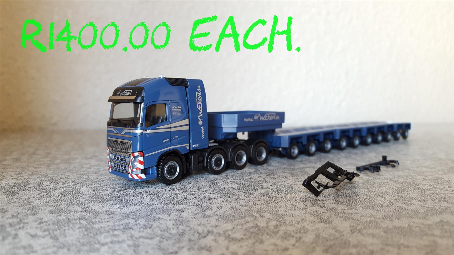 Abnormal Truck Models 1:87 Ho Scale