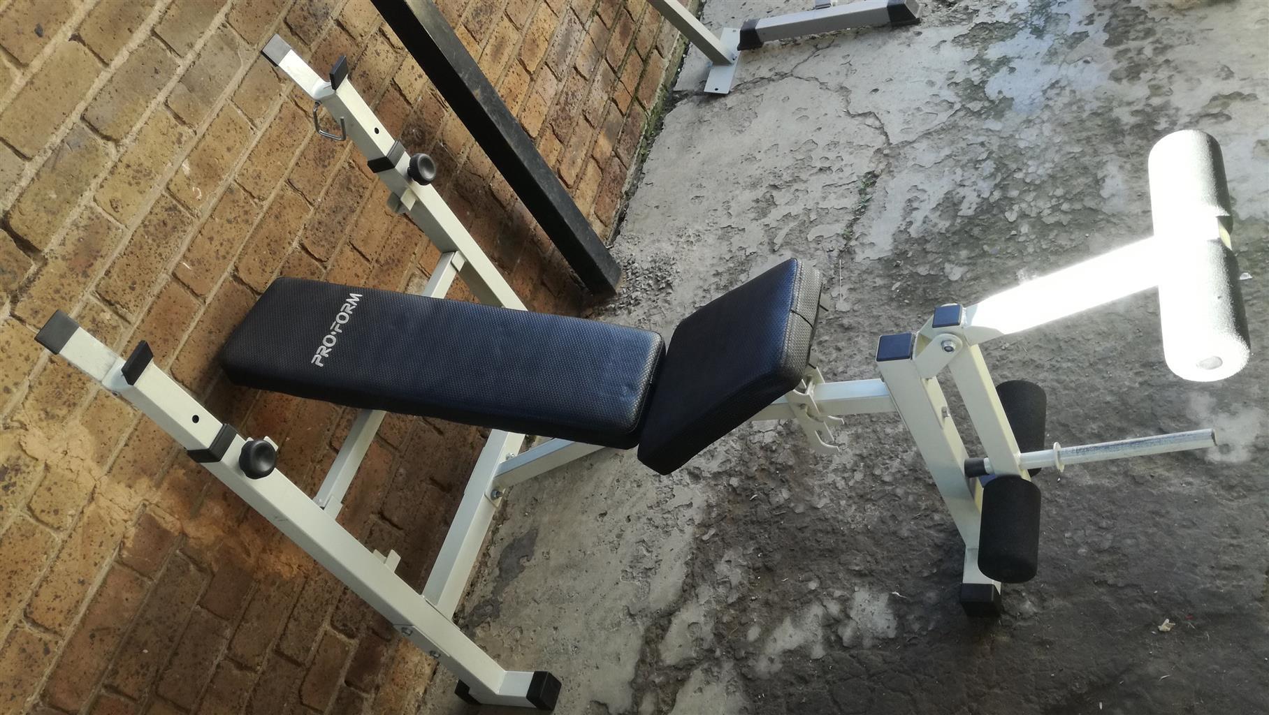 Pro Form Bench Press