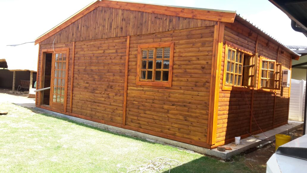 Steel Shed Wooden Wendys