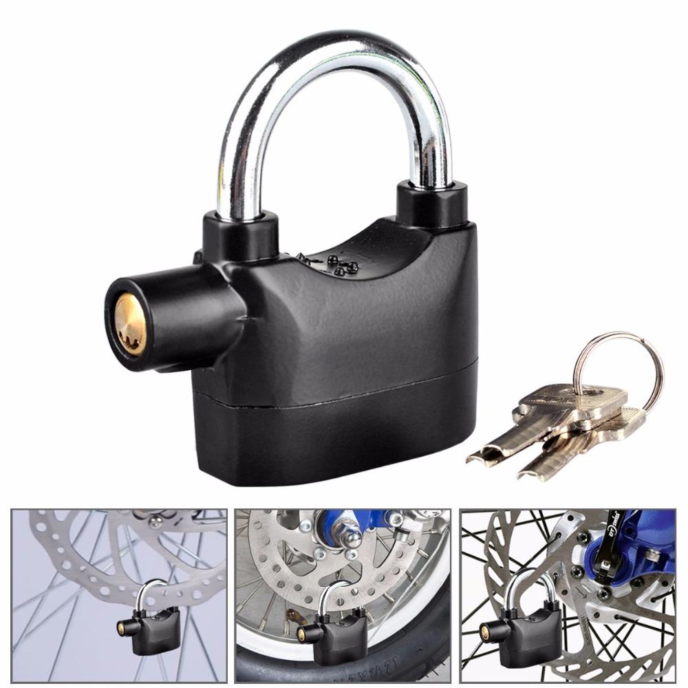 Siren alarm padlock x 2 locks