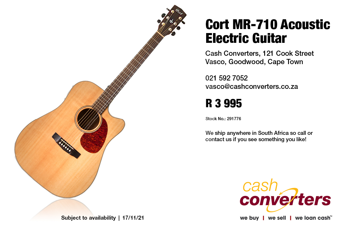 Cort MR-710 Acoustic Electric Guitar