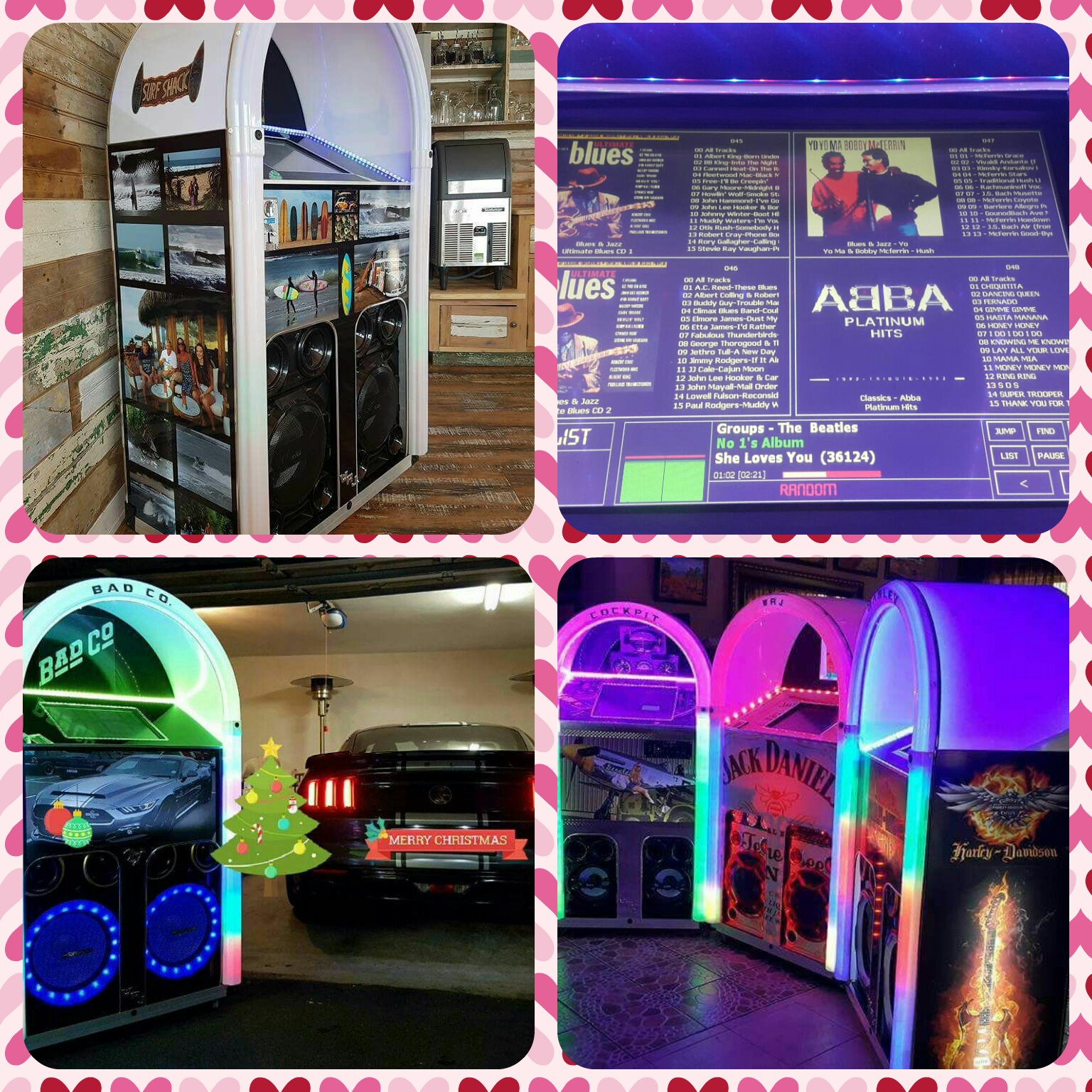 Willister Retro Jukeboxes - Touch Screen Range