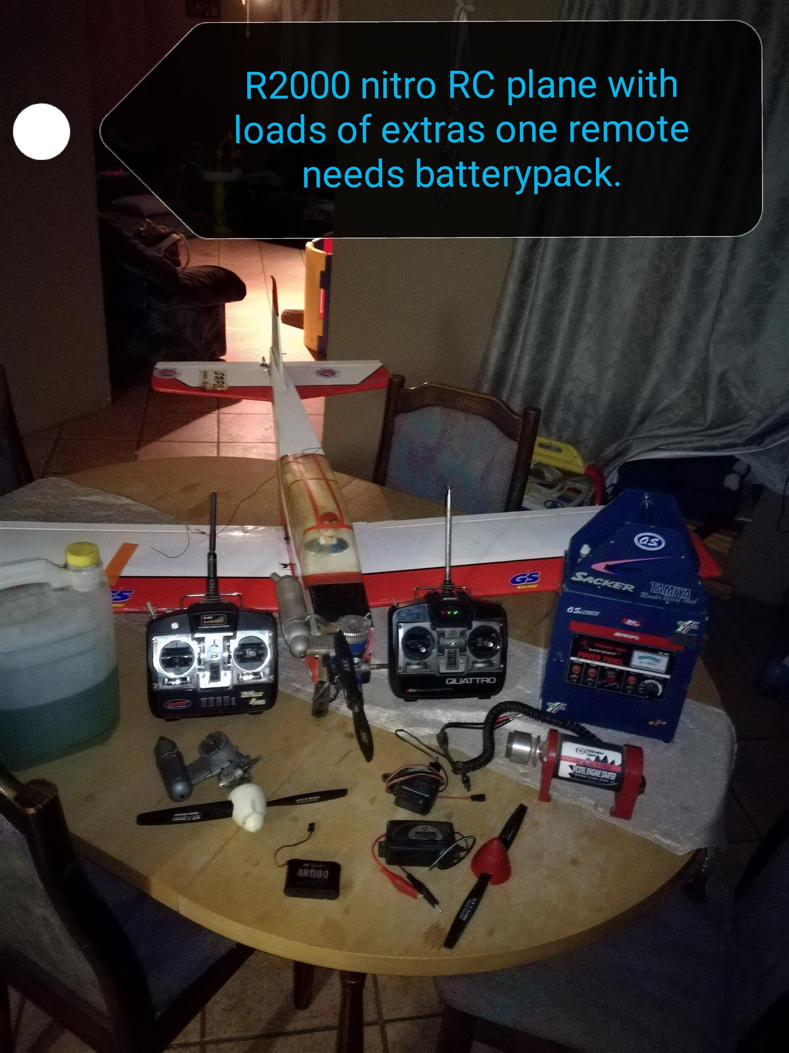 1.4m RC plane and loads of extras