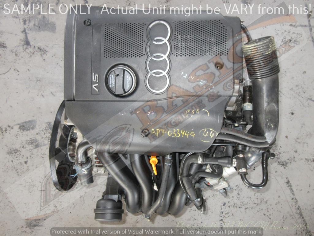 AUDI A4 -APT 1.8L EFI 20V Engine -PASSAT 4