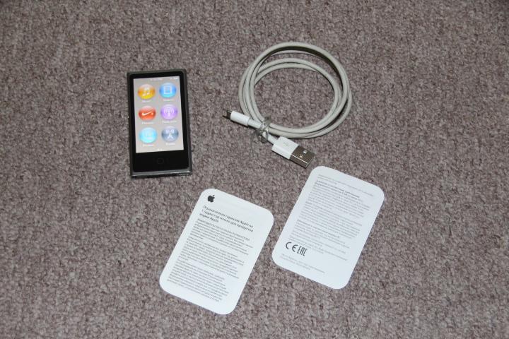 Apple Ipod nano 7th generation A1446 silver