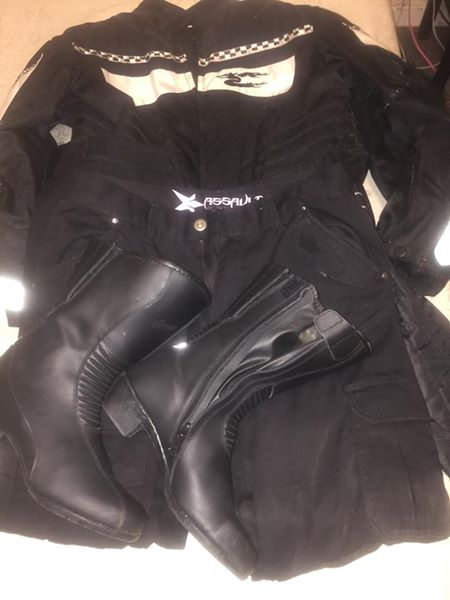 Ladies biker clothes