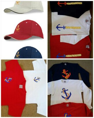 Tshirts and caps for sale
