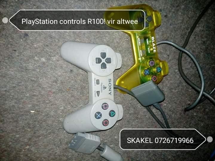 Playstation controls