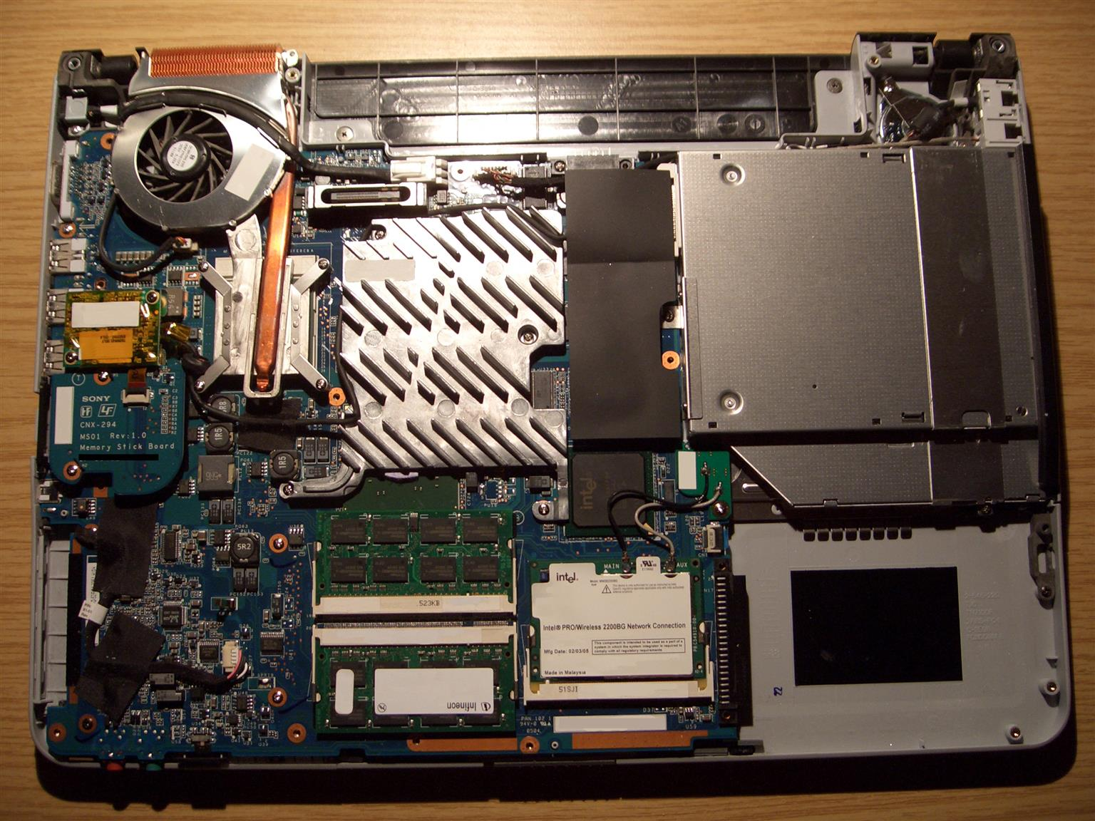 Sony Laptop Motherboards
