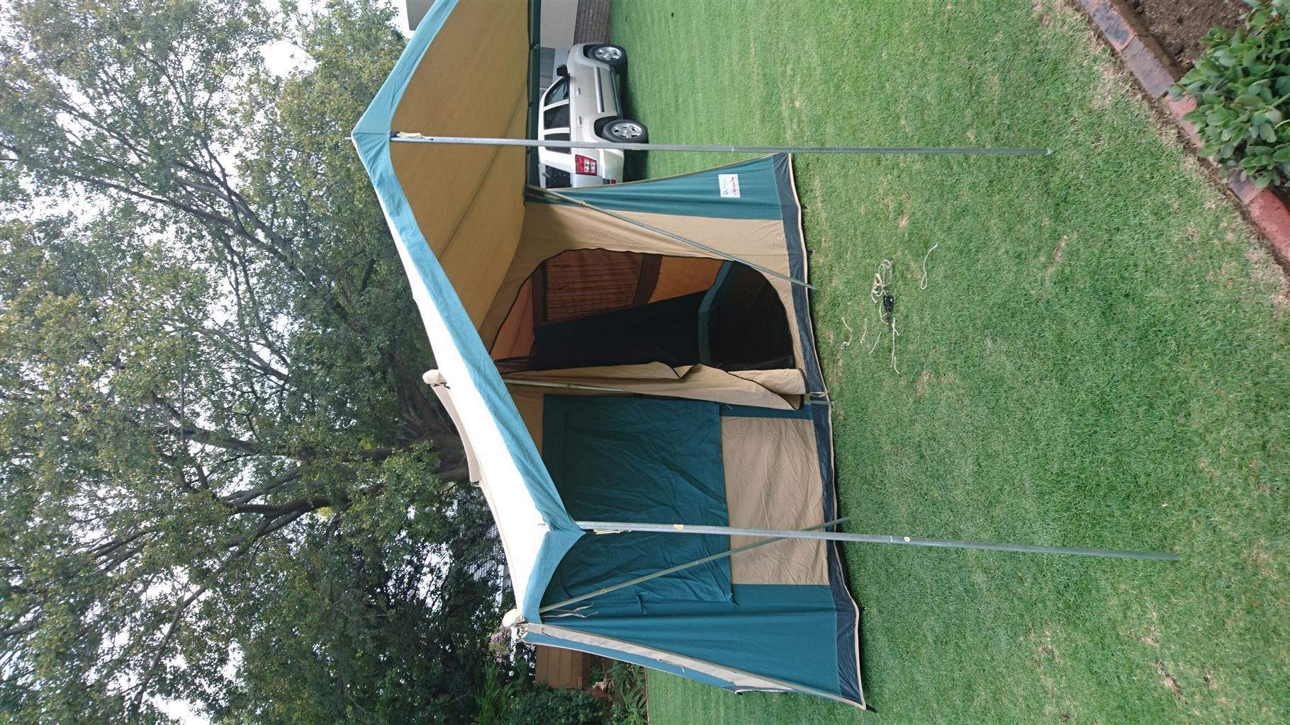 A Great Canvas Tent