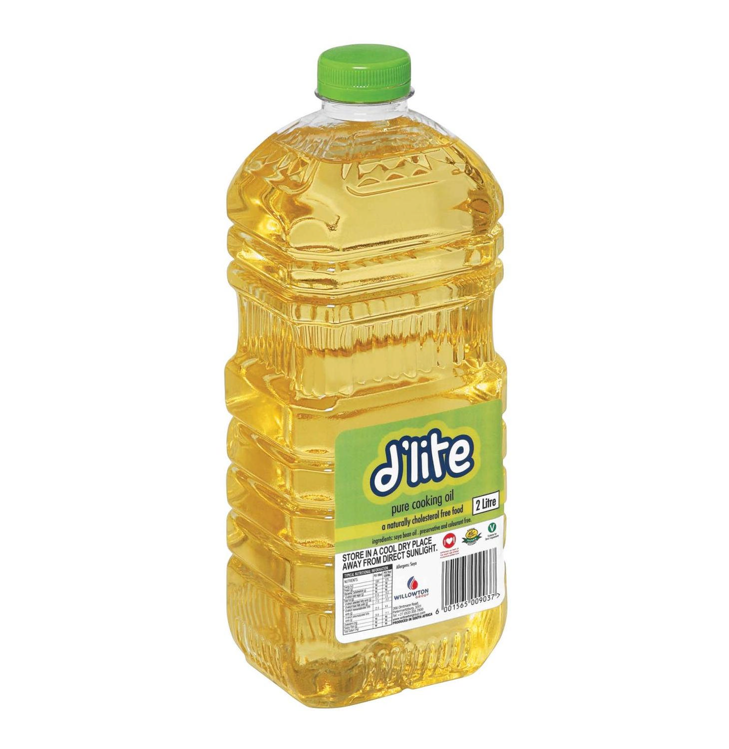 D lite soyabean cooking oil