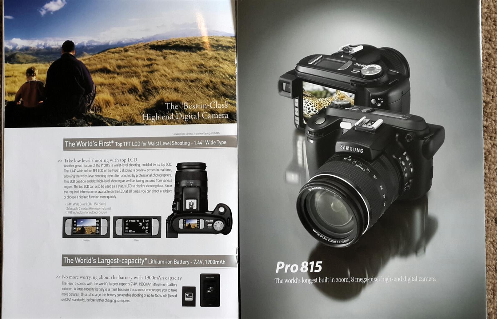 SAMSUNG PRO 815 Digital camera