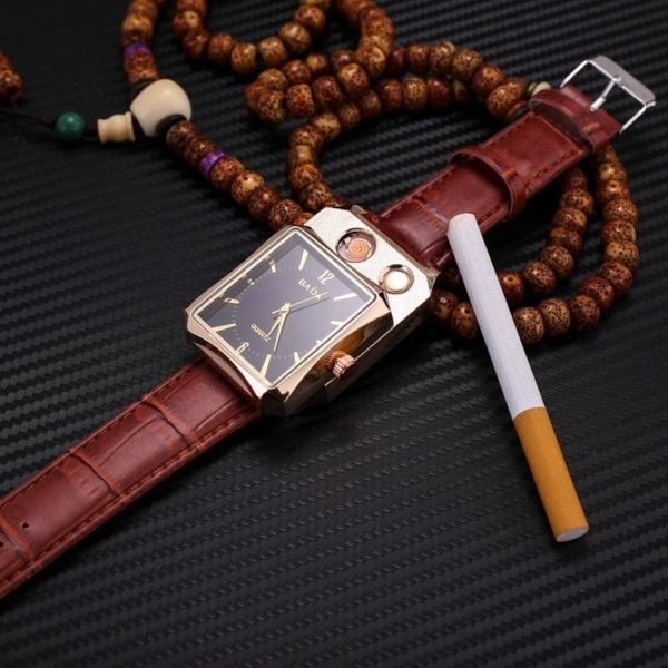 UNISEX CIGARETTE WATCH LIGHTER