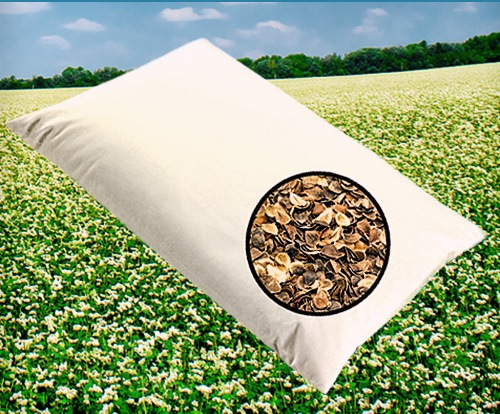 BLACK FRIDAY and WEEKEND SELLING ! FOR YOUR HEALTHY SLEEP - YOUR NEW BUCKWHEAT HULLS PILLOW!