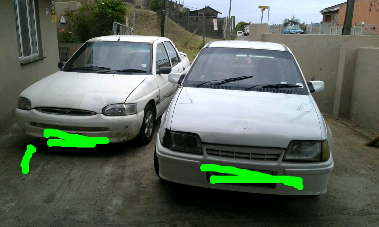 two cars for sale