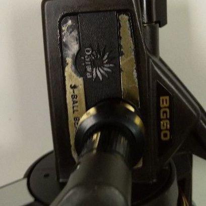Daiwa BG 60 coffee grinder fishing reel for sale