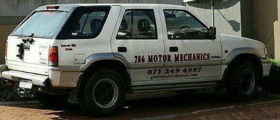 786 Motor Mechanics