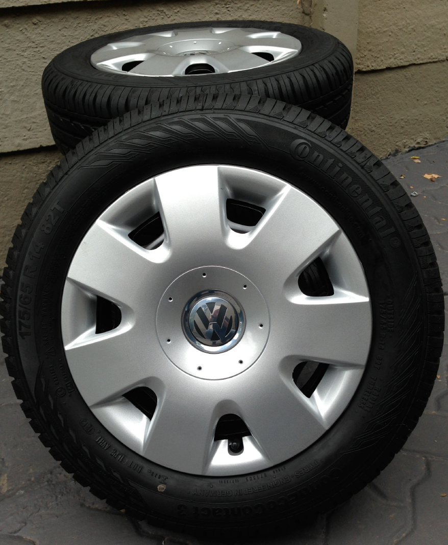 14inch Tyres and VW Polo Rims