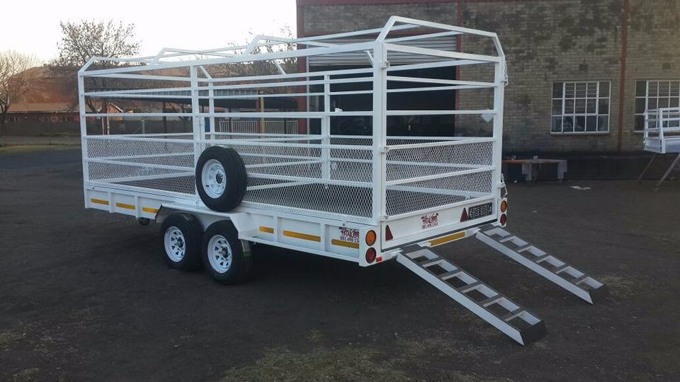 Cattle trailers by Bon Voyage Trailers