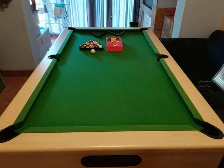 Pool Table & Table Tennis