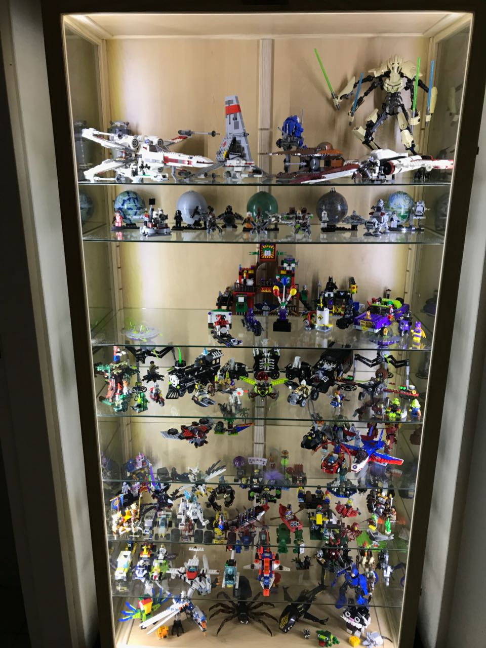 Character And Action Figures Display Cases And Cabinets Beautiful Custom  Made, Dust Proof ,