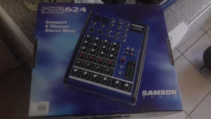 Splinternuwe 6 channel mixer