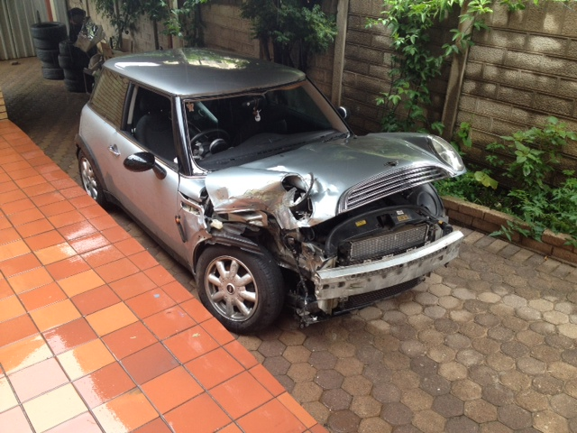 Mini Cooper Original Mags with Tyres