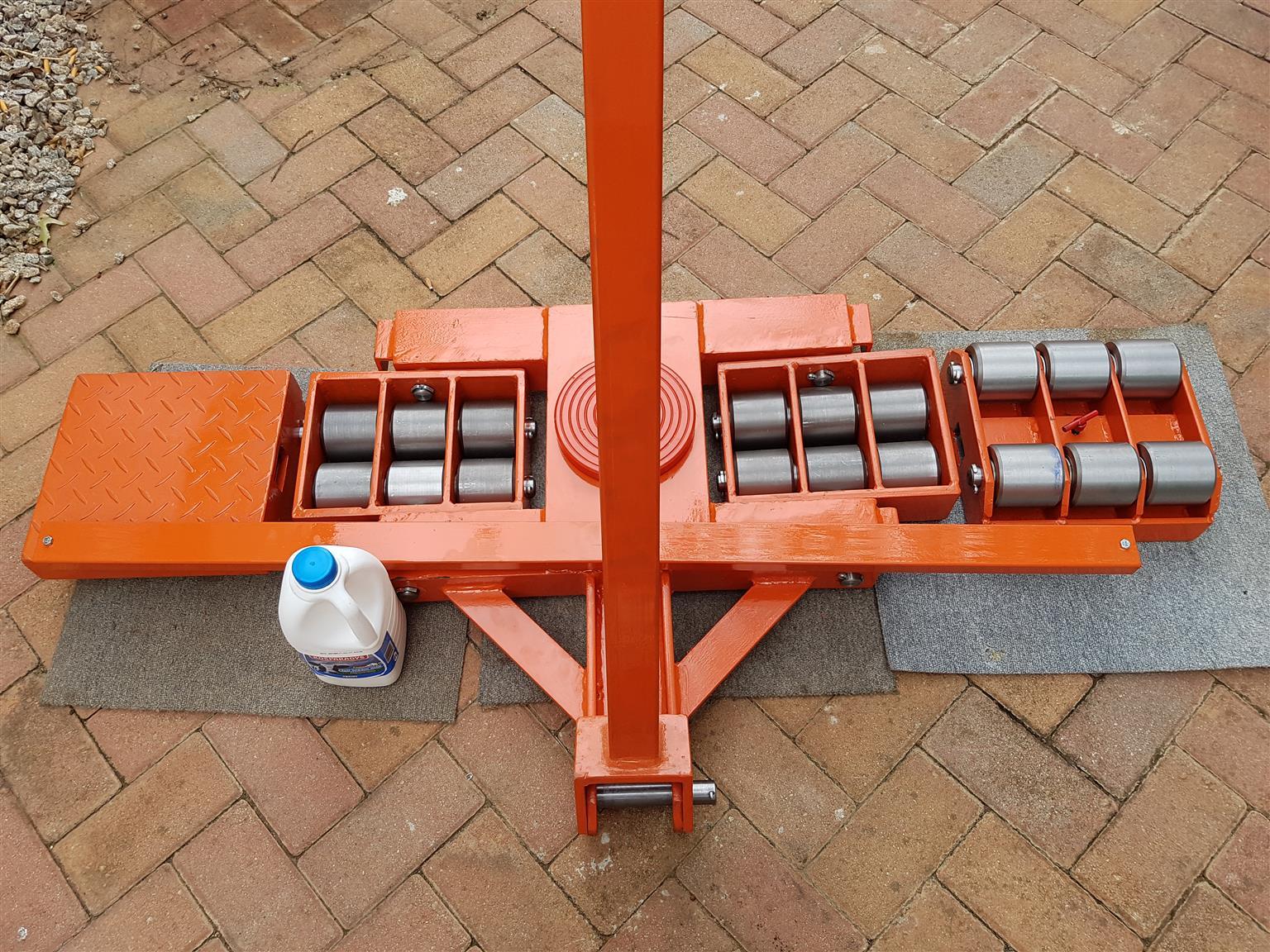 24 tone  rigging steering set trolleys