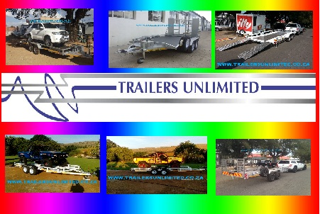 TRAILERS UNLIMITED DOUBLE AXLE CAR TRAILERS FROM R32000