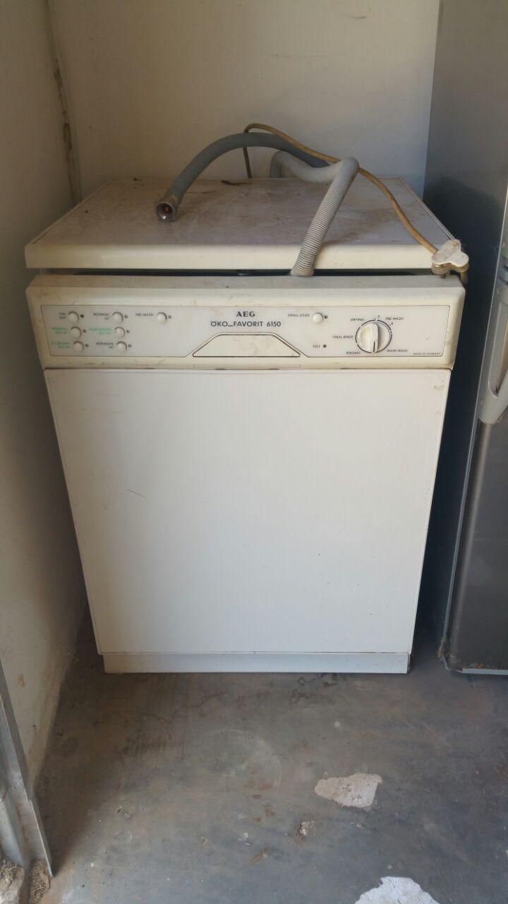 Old AEG Dishwasher