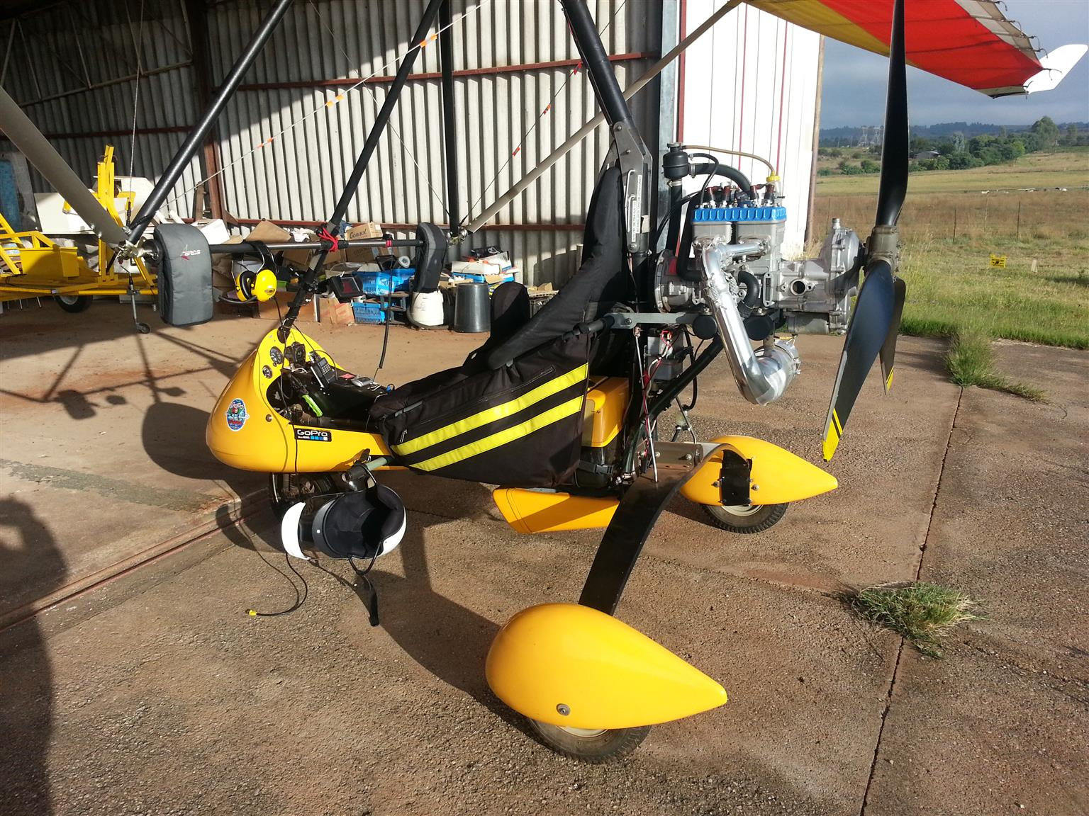 Microlight Antares with near new engine and wing
