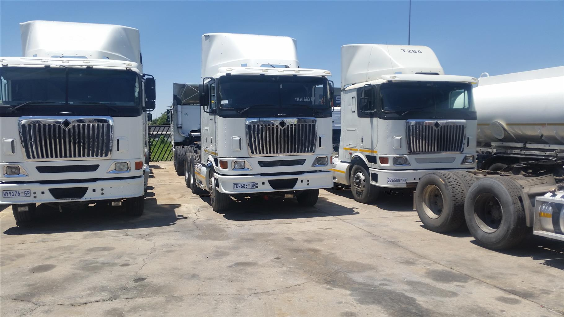 GREAT DEALS ON TRUCKS AND TRAILERS. JOB GUARANTEED WHEN BUYING FROM US.