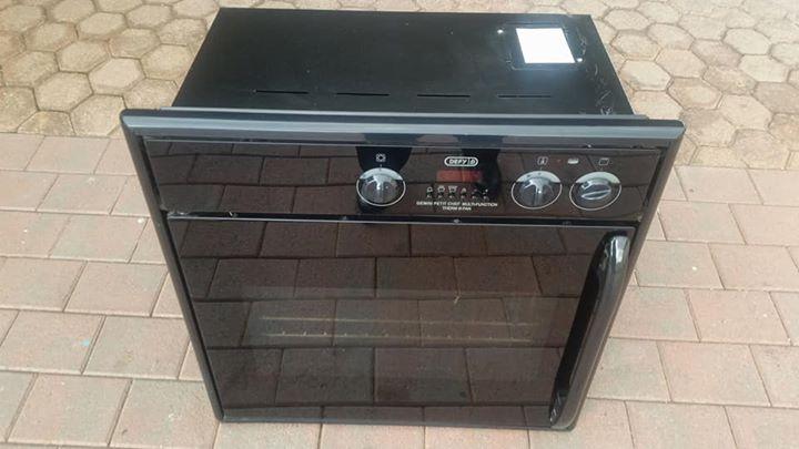 Defy glass top stove