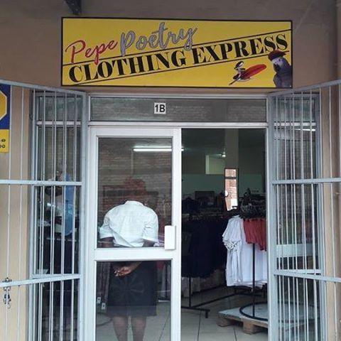CLOTHING / FACTORY SHOP FOR SALE