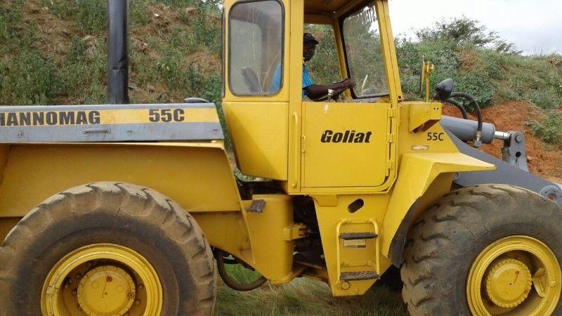 Hannomag Tractor Super 55c