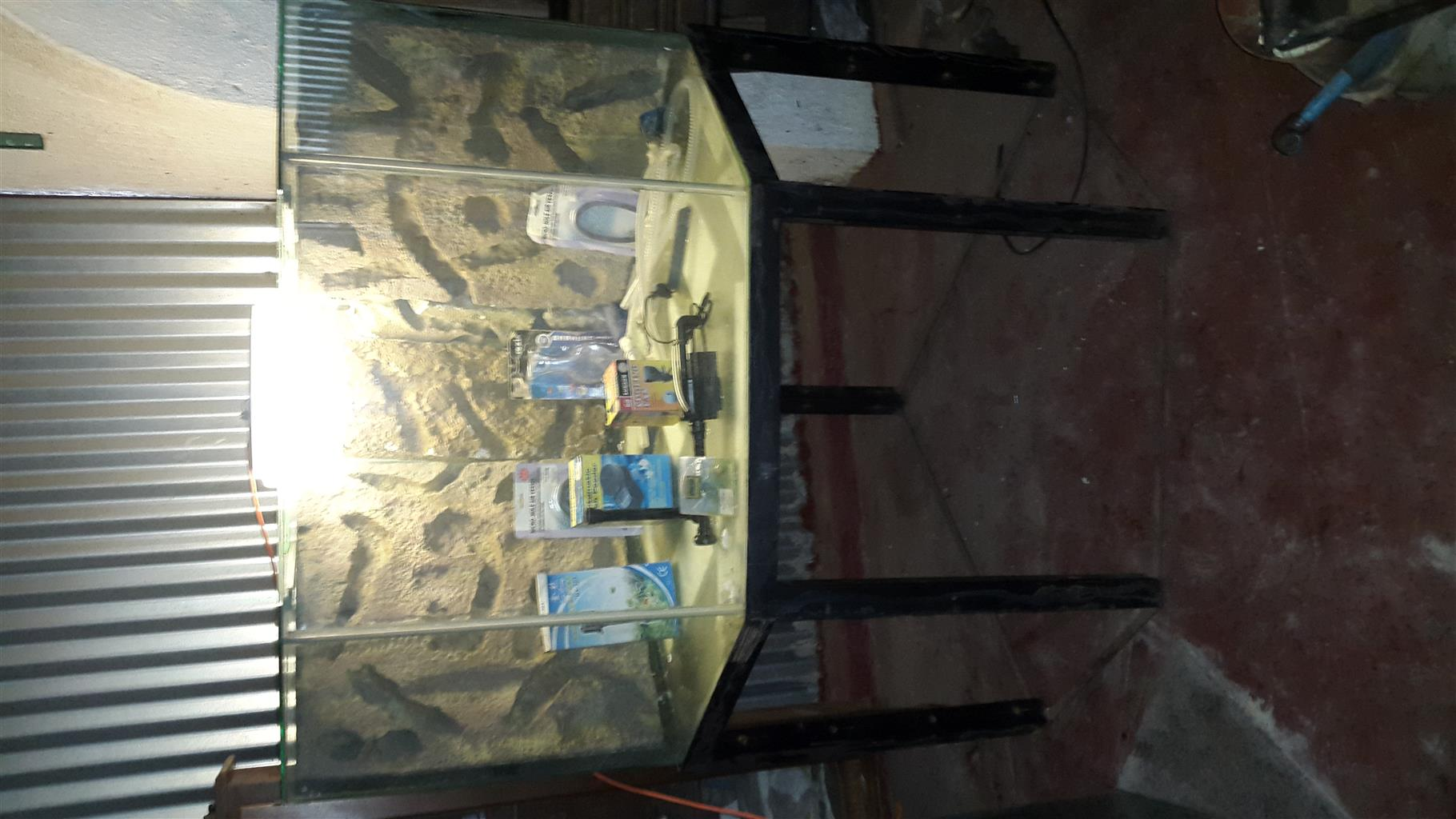 Corner Unit Aquarium for sale