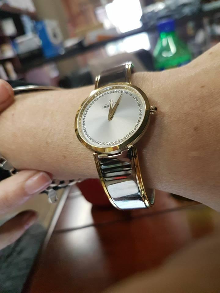 Variety of Michel Herbalin watches