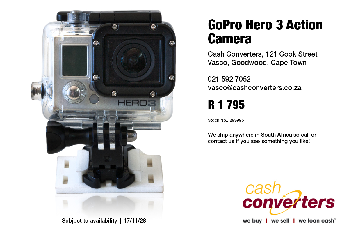 GoPro Hero 3 Action Camera