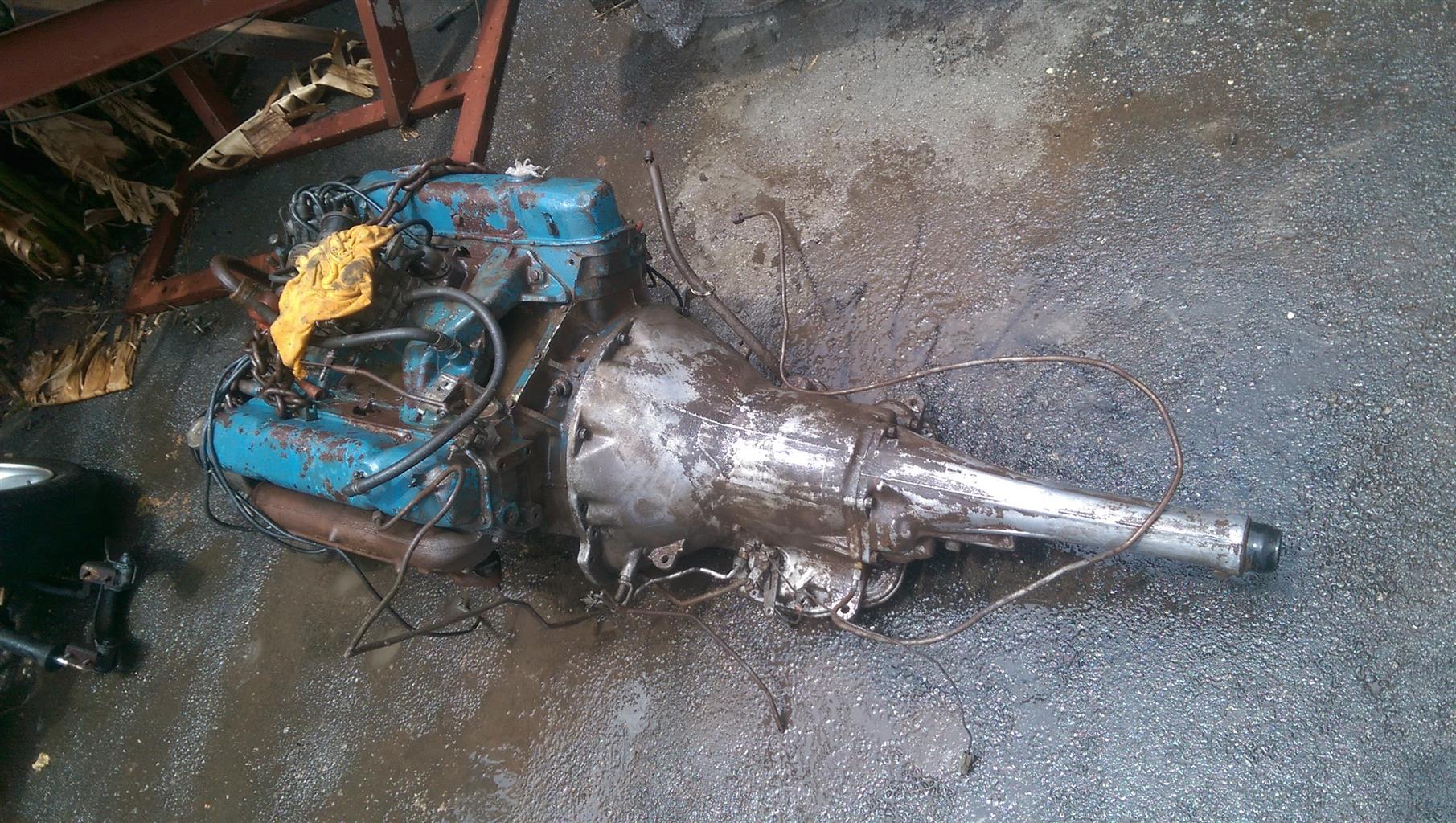Chrysler 383 V8 Engine