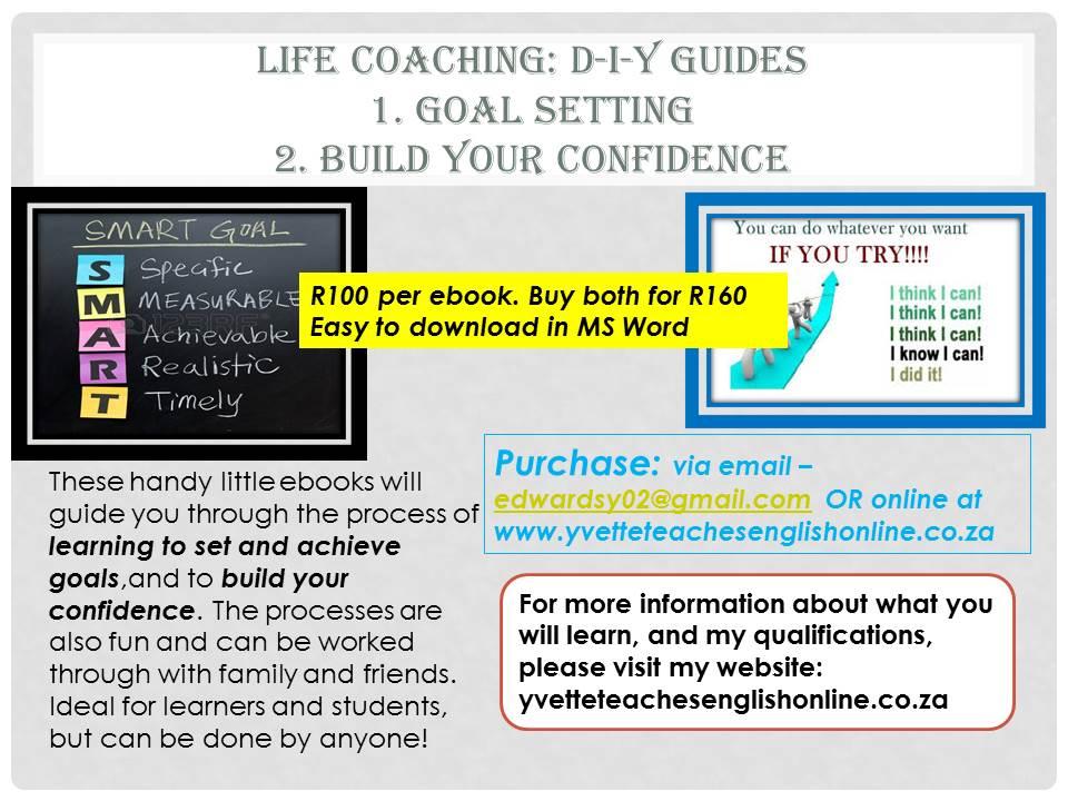 Life Coaching: self-help ebooks