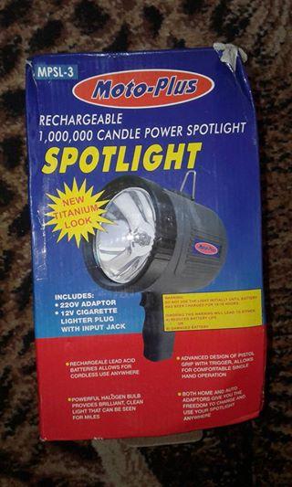 Moto plus spotlight